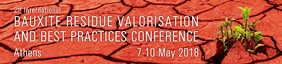 2nd International Bauxite Residue Valorisation and Best Practices Conference