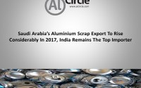 Saudi Arabia's aluminium scrap export to rise considerably in 2017, India remains the top importer
