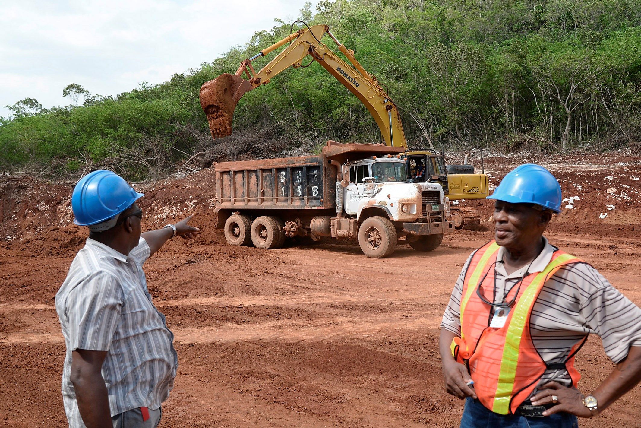 Image result for Jamaican bauxite industry