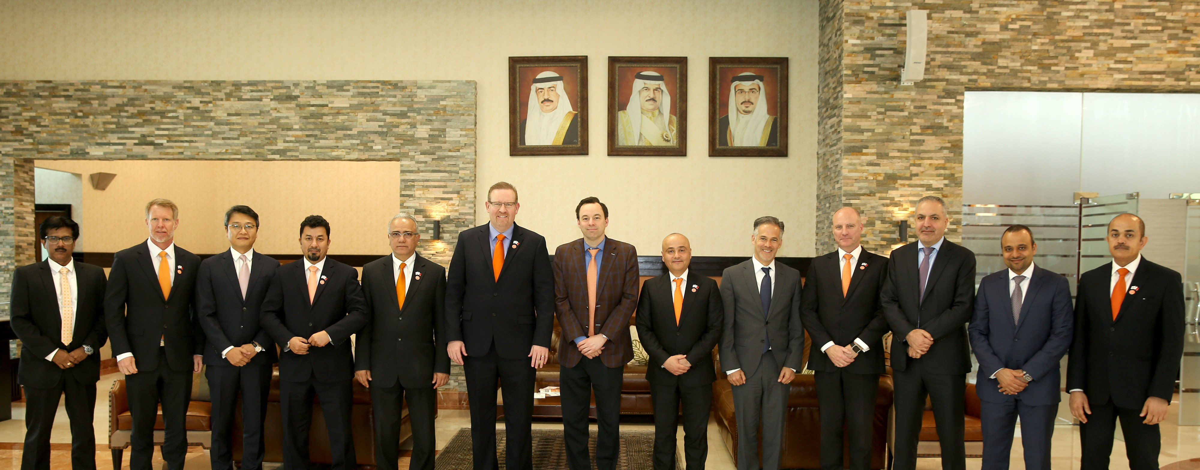 Alba welcomes delegation from General Electric