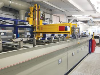 JWE manufactures aluminium anodising line for GSM Graphic Arts
