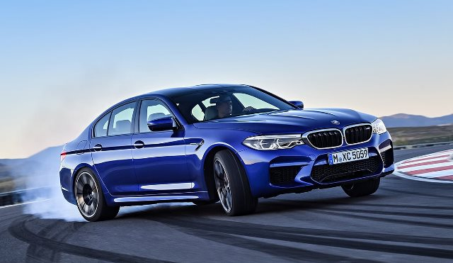 The new 2018 BMW M5 sheds weight with use of aluminium and carbon