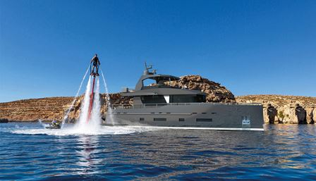 Bering Yachts unveils B70 Tempest yacht with all- aluminium