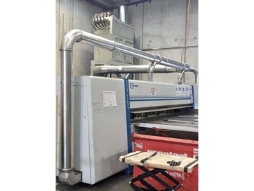 Ezi-Duct installs dust collection system for aluminium wastes