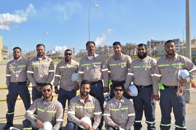 EGA sends young engineers for five months training at Ma'aden refinery in Saudi Arabia