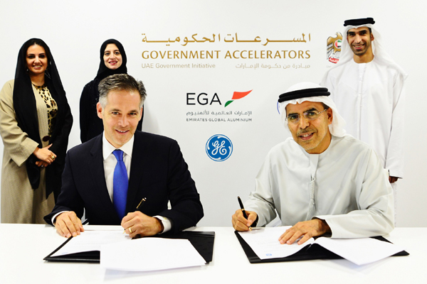 EGA and GE sign MoU to implement 100 day emission reduction programme
