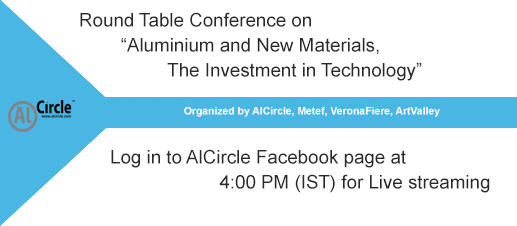 AlCircle co-hosts Aluminium & New Materials Roundtable: Watch out for LIVE-streaming at 4 p.m.
