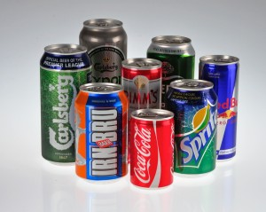 Drinks Cans Made Aluminium