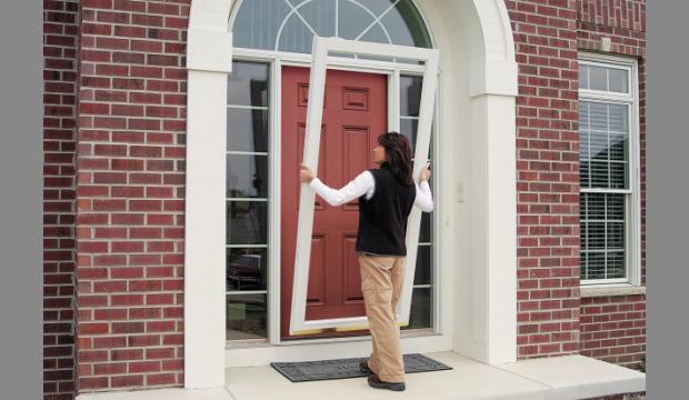 Aluminium considered best material for storm doors by us for Storm door manufacturers